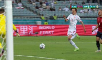 EURO 2021: Απείλησε για το 0-2 ο Ντάμσγκααρντ, είχε απάντηση ο Βάτσλικ (VIDEO)