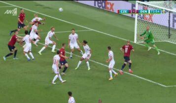 EURO 2021: Ο Σμάιχελ πήρε τη μπουκιά από τον Σούτσεκ με εκπληκτική εκτίναξη (VIDEO)