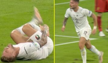 EURO 2021: O Ιμόμπιλε, έπεσε για πέναλτι και «αναστήθηκε» για να πανηγυρίσει το 1-0 (VIDEO)