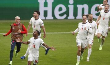 EURO 2021: Κλείνουν τα δύο τελευταία εισιτήρια για τα ημιτελικά -Η Αγγλία με την Ουκρανία και η Τσεχία με τη Δανία