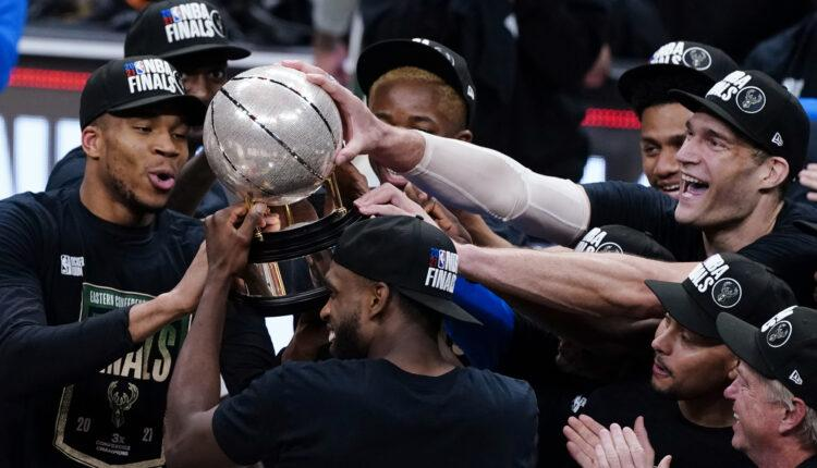 NBA: Στους τελικούς ο Αντετοκούνμπο και οι Μπακς, 4-2 τους Χοκς (VIDEO)