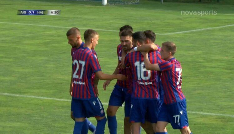 Αρης-Χάιντουκ: Γκολάρα ο Λιβάγια για το 0-1 (VIDEO)