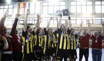 ΑΕΚΑΡΑ… ΤΡΕΜΠΛ! -Έγραψε ιστορία με την κατάκτηση και του πρωταθλήματος, 33-35 τον ΠΑΟΚ!