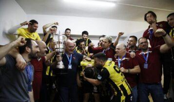 ΑΕΚ: Οι πανηγυρισμοί των Πρωταθλητών Ελλάδος (ΦΩΤΟ)