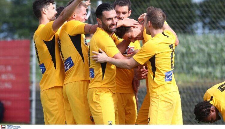 Η σοβαρή ΑΕΚ κέρδισε (0-2) την Αντβέρπ με Τζαβέλλα-Γκαρσία να την δυναμώνουν