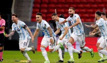 Copa America: Στον τελικό η Αργεντινή του Μέσι στα πέναλτι -Και τώρα Βραζιλία! (VIDEO)