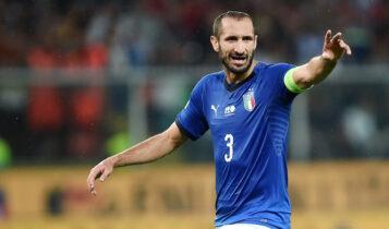 EURO 2021-Κιελίνι: «Η Αγγλία έπαιξε σχεδόν όλα τα ματς στην έδρα της»