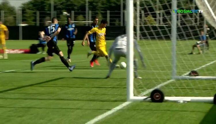 Μπριζ-ΑΕΚ: Ο Αλμπάνης με κόντρα ισοφάρισε σε 1-1! (VIDEO)