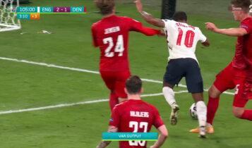 EURO 2021: Και στον τελικό ο VARίστας του Αγγλία - Δανία!