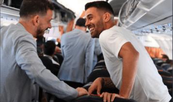 Με Σπινατσόλα ταξίδεψε η αποστολή της Ιταλίας