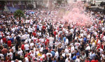 EURO 2021: Δεν έλειψαν τα... παρατράγουδα από το Λονδίνο (VIDEO)