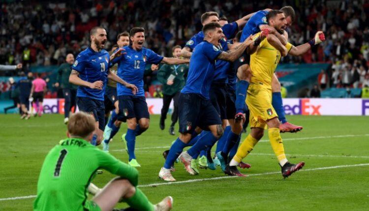 EURO 2021: Πρωταθλήτρια Ευρώπης η Ιταλία, 3-2 την Αγγλία στα πέναλτι  (VIDEO)