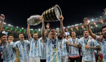 Λιονέλ Μέσι: Εφτασε τους 38 τίτλους -Ο πρώτος με την Εθνική Αργεντινής (ΦΩΤΟ)