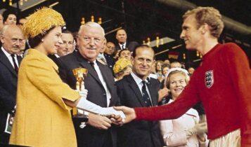 Μήνυμα από τη Βασίλισσα Ελισάβετ στον Σάουθγκεϊτ: «Είχα την τύχη να είμαι εκεί το 1966...»