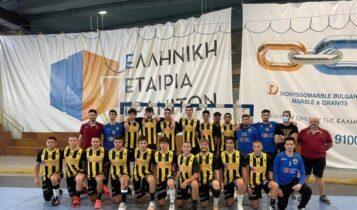ΑΕΚ: Πρωταθλητές Αττικής οι Έφηβοι στο χάντμπολ
