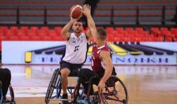 Ήττα για την Εθνική ομάδα μπάσκετ με αμαξίδιο στο Πανευρωπαικό Β' κατηγορίας