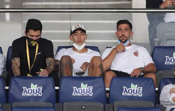 Η πρωταθληματική παρέα ξανά μαζί: Αραούχο, Κονέ και Μπακασέτας στο ΟΑΚΑ!