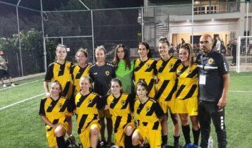 ΑΕΚ: Συνέτριψε τον Ατρόμητο και «φουλάρει» για τον τίτλο η ΑΕΚ στο Futsal Γυναικών