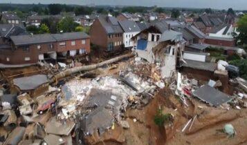 Πλημμύρες στη Γερμανία: Εκατόμβη νεκρών (VIDEO)