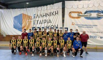 ΑΕΚ: Στους «4» του Πανελλήνιου πρωταθλήματος οι Έφηβοι στο χάντμπολ