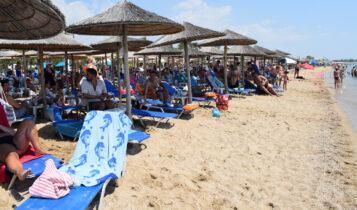 Χαμός στις παραλίες της Αττικής το Σαββατοκύριακο, όλες οι ξαπλώστρες πιασμένες από νωρίς (ΦΩΤΟ-VIDEO)