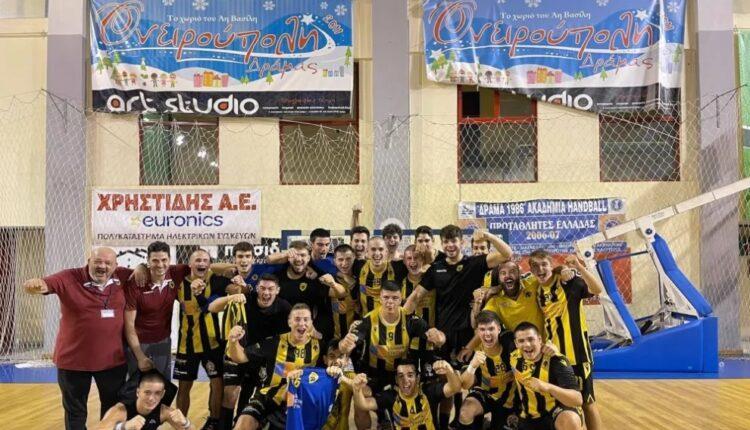 Η ΑΕΚάρα πρωταθλήτρια Ελλάδος στους Εφήβους!