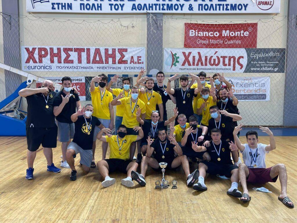 ΑΕΚ: Εικόνες του enwsi.gr από τους πανηγυρισμούς της πρωταθλήτριας Εφήβων!
