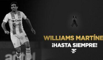 Σοκ στο παγκόσμιο ποδόσφαιρο: Αυτοκτόνησε ο Ουρουγουανός ποδοσφαιριστής Γουίλιαμς Μαρτίνες