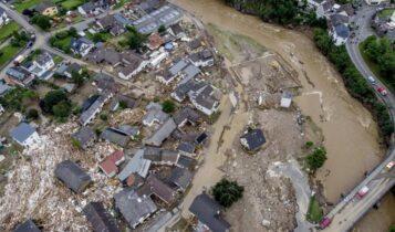 Πάνω από 150 οι νεκροί από τις φονικές πλημμύρες στη Γερμανία