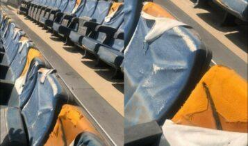 Αυγενάκης και ΓΓΑ εγκατέλειψαν το ΟΑΚΑ -Τραγική εικόνα στις εξέδρες (ΦΩΤΟ)