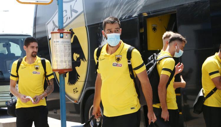 Βελέζ-ΑΕΚ: Την Τετάρτη στις 10:00 αναχώρηση για Σαράγεβο - Eπιστροφή στην Αθήνα αμέσως μετά το ματς (ΦΩΤΟ)