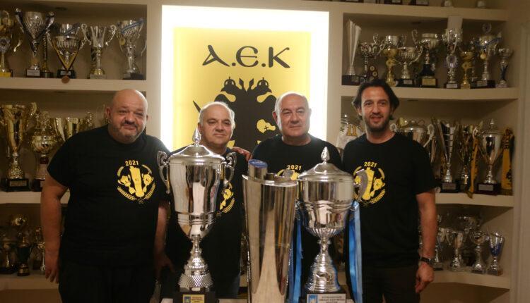 Παπαχαρτοφύλης στο enwsi.gr: «Συγχαρητήρια στους Εφήβους, στόχος της ΑΕΚ η συνεχής ανάδειξη νέων ταλέντων»