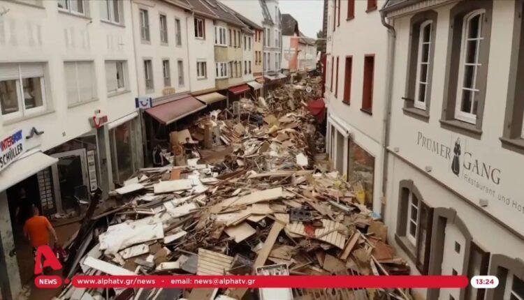 Εθνική τραγωδία στη Γερμανία: 166 νεκροί – «Μάχη» για τους αγνοούμενους (VIDEO)