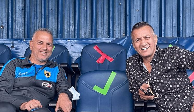 ΑΕΚ: Δημητριάδης και Σαμπανάτζοβιτς ξανά μαζί (ΦΩΤΟ)