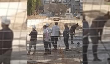 Ο Μελισσανίδης στην «OPAP Arena» -Eπιθεωρεί τα έργα στο γήπεδο της ΑΕΚ (VIDEO)