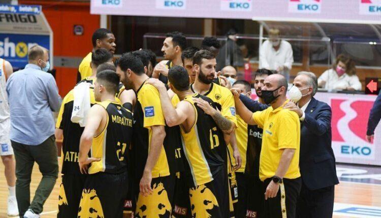 Η ΑΕΚ με Παναθηναϊκό, Προμηθέα Πατρών και Λαύριο στο Σούπερ Καπ μπάσκετ