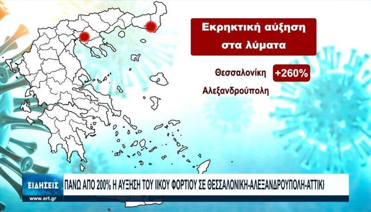 Κορωνοϊός: Εκρηκτική αύξηση των κρουσμάτων σε πολλές περιοχές (VIDEO)