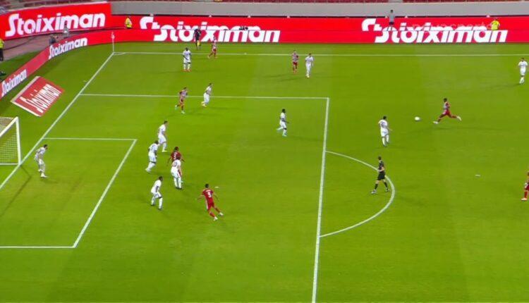 Ολυμπιακός-Νέφτσι Μπακού: Ο Καμαρά με τρομερό σουτ το 1-0 (VIDEO)