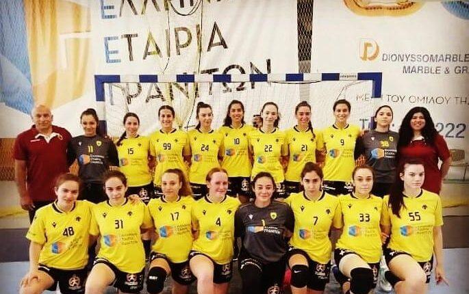 ΑΕΚ: Πανέτοιμη για το Final-6 που ξεκινάει αύριο η ομάδα Κορασίδων χάντμπολ