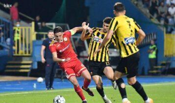 Βελέζ-ΑΕΚ 2-1 (ΤΕΛΙΚΟ)
