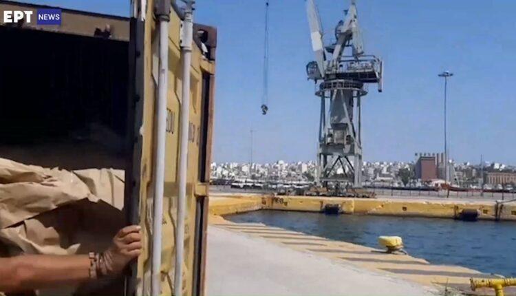 Πειραιάς: Ετσι εντοπίστηκαν τα 350 κιλά κοκαΐνης στο λιμάνι (VIDEO)