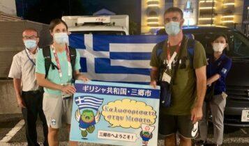 Ολυμπιακοί Αγώνες: Έφτασε στην Ιαπωνία η Στεφανίδη με ένθερμη υποδοχή από τους Ιάπωνες (ΦΩΤΟ)