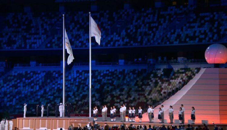 Ολυμπιακοί αγώνες: Η έπαρση της σημαίας και ο ύμνος των Ολυμπιακών Αγώνων (VIDEO)