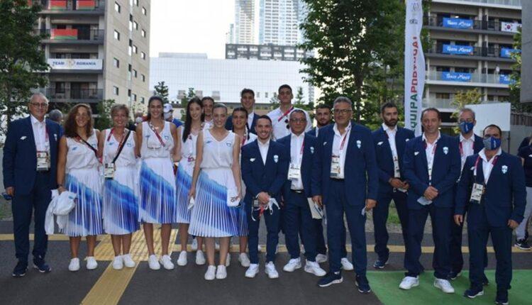 Ολυμπιακοί Αγώνες: Έτοιμη η ελληνική ομάδα για την τελετή έναρξης στο Τόκιο (ΦΩΤΟ)