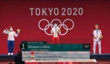 Ολυμπιακοί Αγώνες: Απονομή μεταλλίων εν μέσω κορωνοϊού (VIDEO)