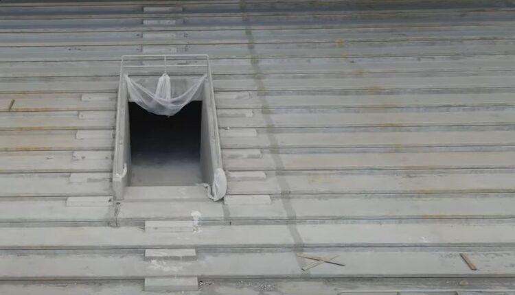 «OPAP Arena»: Δείτε τα κάγκελα που μπήκαν πέριξ του αγωνιστικού χώρου και στις εισόδους των θυρών (VIDEO)
