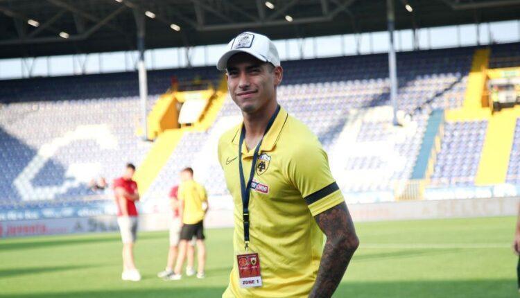 Μιλοβάνοβιτς για Αραούχο: «Είναι ευτυχισμένος στην Αθήνα και την ΑΕΚ»
