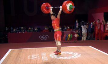 Ολυμπιακοί Αγώνες: Χρυσός με ρεκόρ στην άρση βαρών ο Λιουν Σεν (VIDEO)
