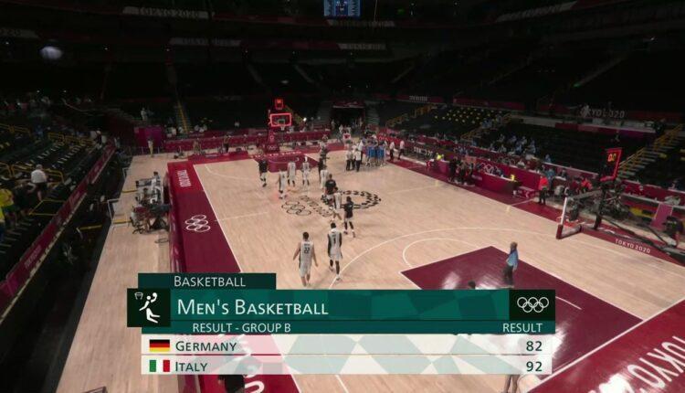 Ολυμπιακοί αγώνες: Γερμανία - Ιταλία 82-92 (VIDEO)