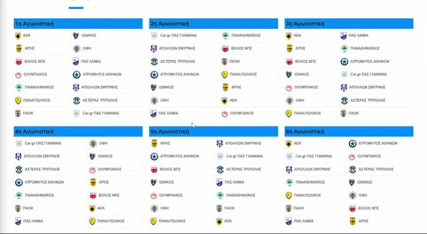 Με Ιωνικό στο ΟΑΚΑ η ΑΕΚ στην πρεμιέρα της Super League!